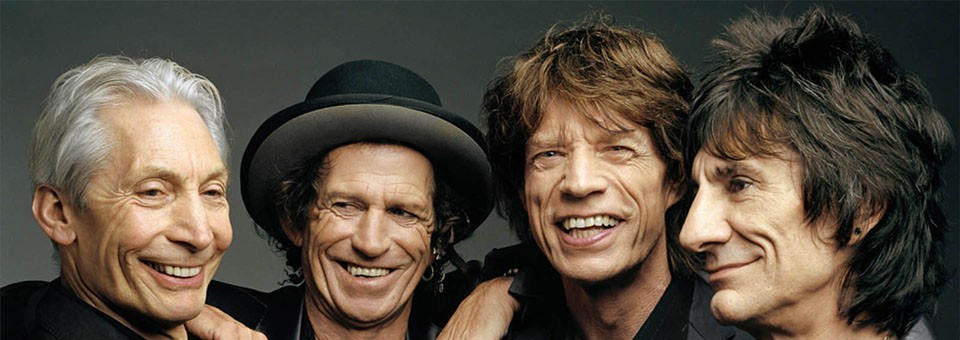 The Rolling Stones y su larga lista de éxitos